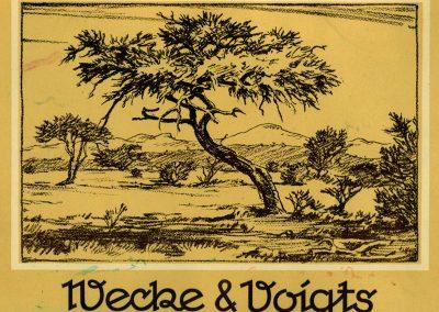 Wecke & Voigts Calendar 1953