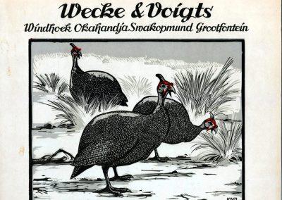Wecke & Voigts Calendar 1956