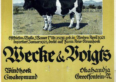 Wecke & Voigts Calendar 1925