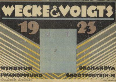 Calendar from 1932